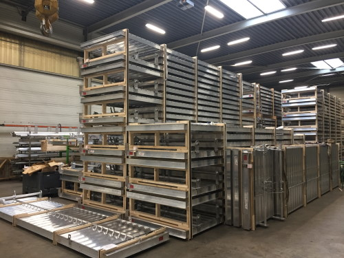 Louvers Manufacture